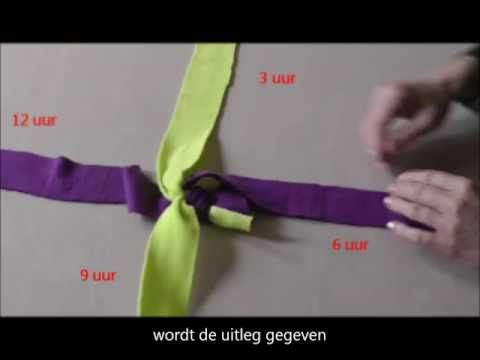 Tug touw. Fleece hondenspeeltjes zelf maken: weitasknoop / scoubidou. Fleece tug toy for your pet