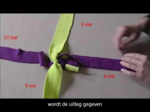 Tug touw. Fleece hondenspeeltjes zelf maken: weitasknoop / scoubidou. Fleece tug toy for your pet