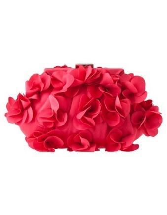 MORGAN & TAYLOR petal frame clutch #cupday #myerspringfashion