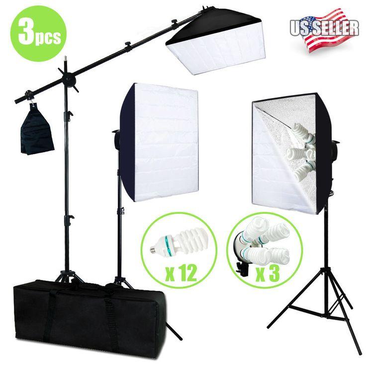 nice Photo Studio Photography 3 Softbox Light Stand Continuous Lighting Kit 2400W VIP   Check more at http://harmonisproduction.com/photo-studio-photography-3-softbox-light-stand-continuous-lighting-kit-2400w-vip/