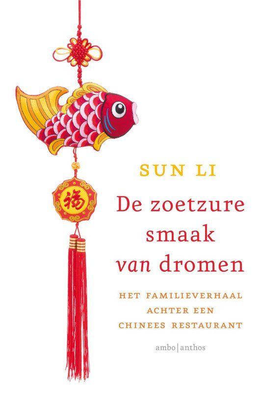 'De zoetzure smaak van dromen' van Sun Li (1980) beschrijft het familieverhaal achter een Chinees restaurant. De ouders van Sun Li komen in 1980 naar Nederland, met lege zakken en vijf kinderen. Zij openen een Chinees restaurant in Friesland en het hele gezin helpt mee, maar tegelijkertijd worden Sun en haar broer en zussen aangemoedigd om goed hun best te doen op school. Hoewel de ouders blij zijn met het succes van hun kinderen, zadelt het ze ook op met een probleem: wie neemt later het…