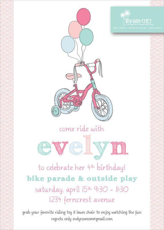 Precious Pastel Bicycle  Digital Download