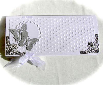 Свадебный конверт своими руками. Мастер-класс
