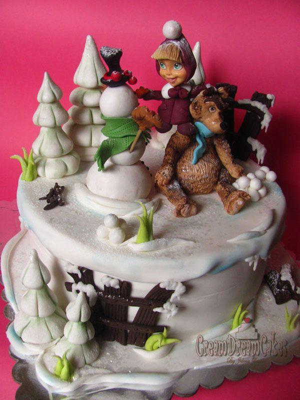 Torta d Masha e Orso n.23