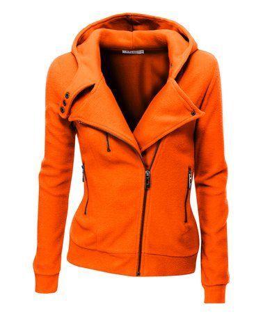 Image result for orange hoodie zipper