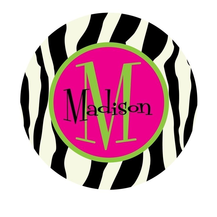 Printable Name Tags | Personalized Stickers, Name Sticker, Sticker labels, Zebra Print ...