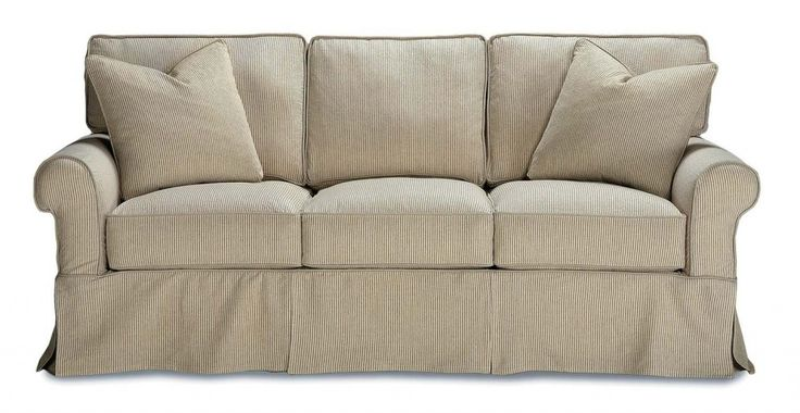 sweet white sofa cover   1000+ images about Sectional Slipcovers on Pinterest ...