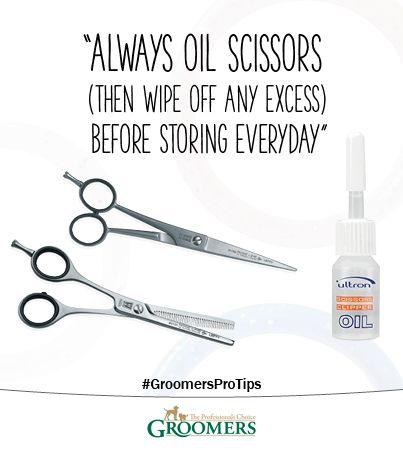 Oil Your Scissors