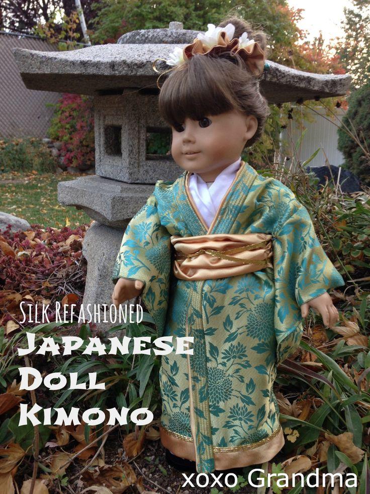 Silk Refashioned - Japanese Doll Kimono