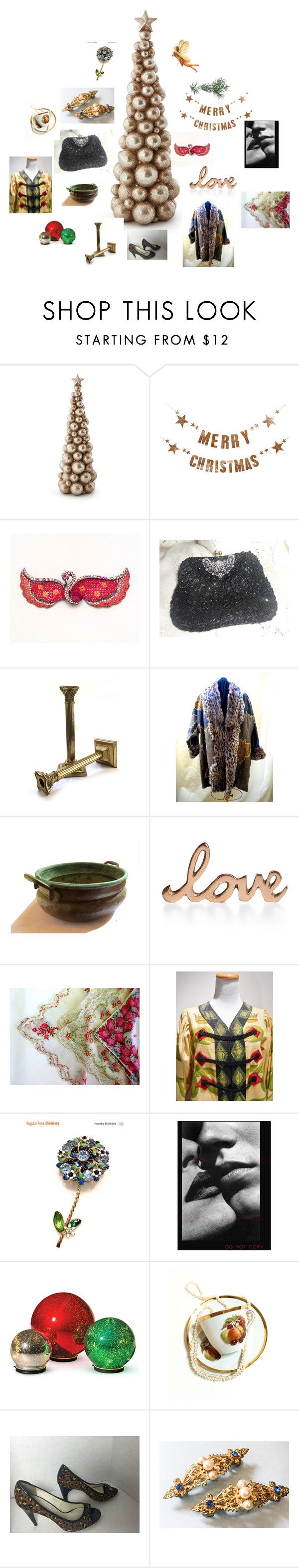 """Christmas Gift Giving For Her"" by betty055 ❤ liked on Polyvore featuring Bloomingville, Butler & Wilson, Home Design Studio, Improvements and Via Spiga"
