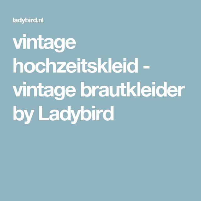 vintage hochzeitskleid - vintage brautkleider by Ladybird