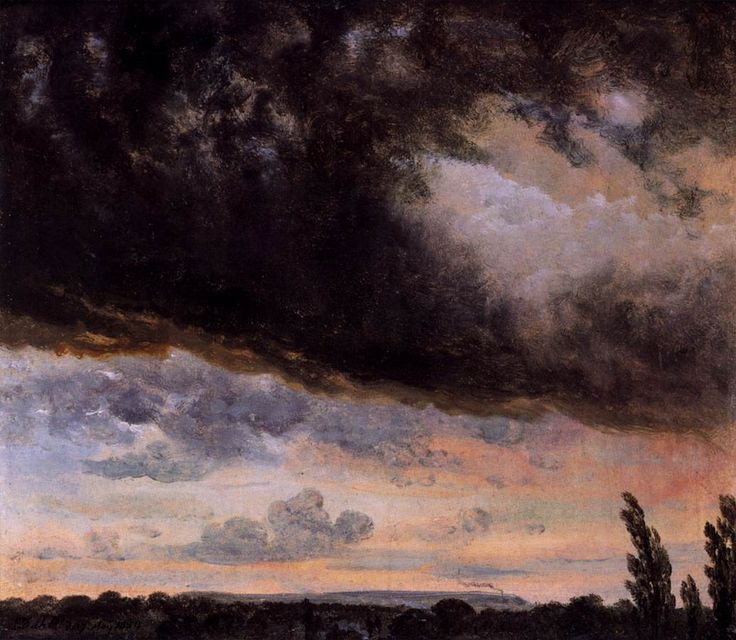 Cloud Study with Horizon (J.C.C. Dahl - ).1832