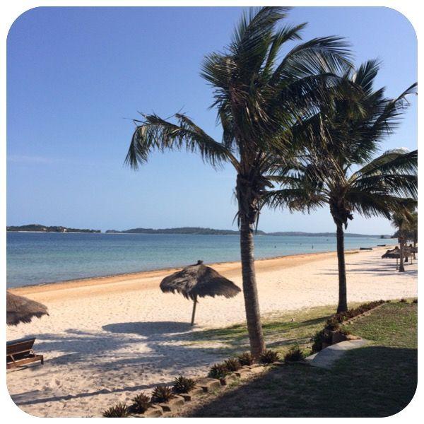 View from San Martinho Beach Club, Mozambique. Photo by Saajida Akabor http://saajida.co.za/