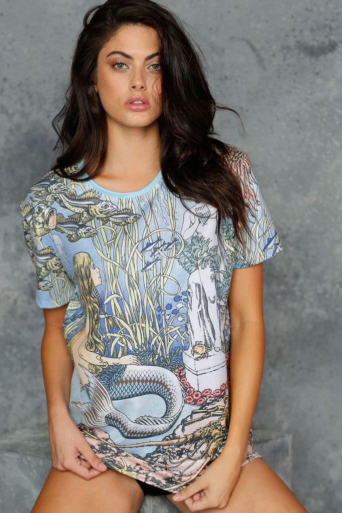Bilibin's Little Mermaid BFT - 48HR (AU $60AUD) by BlackMilk Clothing