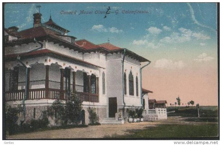 Oltenita - Conacul Mosiei G. Calomfirescu  - 1915