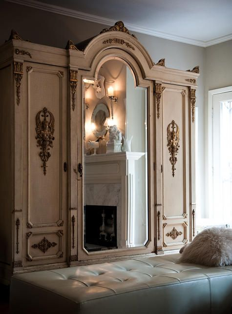 Dressing room: Mirror, French Bedrooms, Dreams, Interiors, Closet Design, Cabinets, Furniture, Dresses Rooms, Bedrooms Ideas