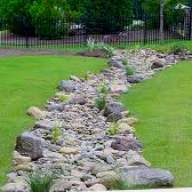 Disguised Yard Drainage TOTAL CONTROL OF WATER SO ...