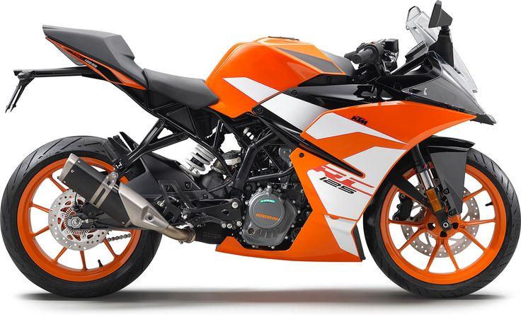 La KTM RC 125 est une moto sportive qui joue la carte du « supersport »