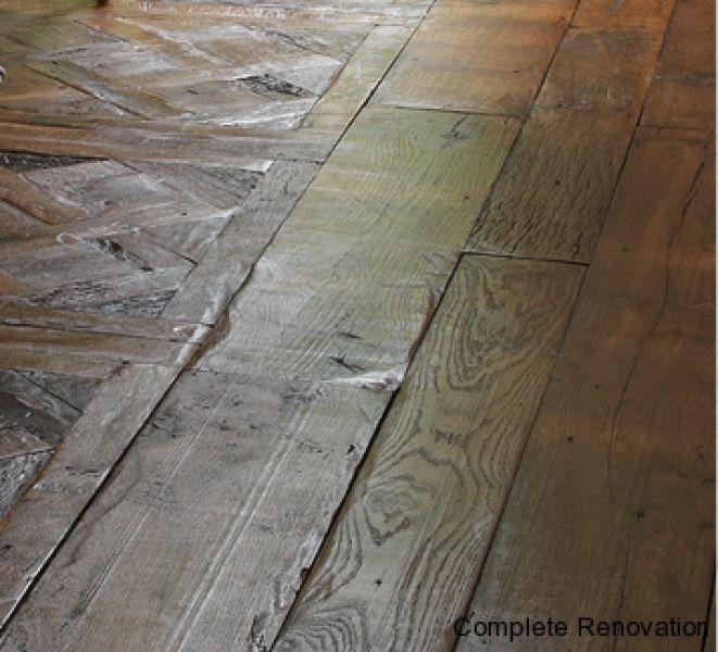 old oak floor Antique oak floor making look over 200 years old
