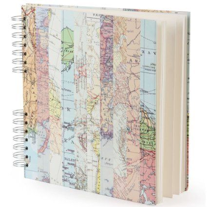 Paperchase Square Map Scrapbook
