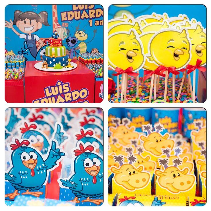 Galinha Pintadinha #festa, #birthday