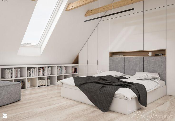 dom w Szwecji - Spacja Studio - zdjęcie od Spacja Studio - Sypialnia - Styl Skandynawski - Spacja Studio