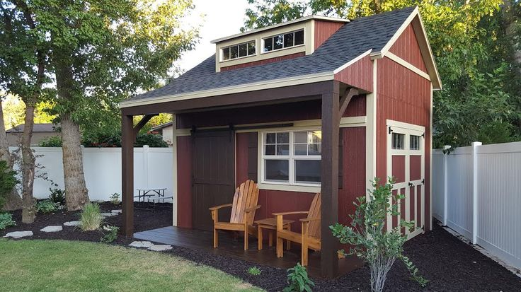 Best 25 corner sheds ideas on pinterest small garden for Detached garage utah
