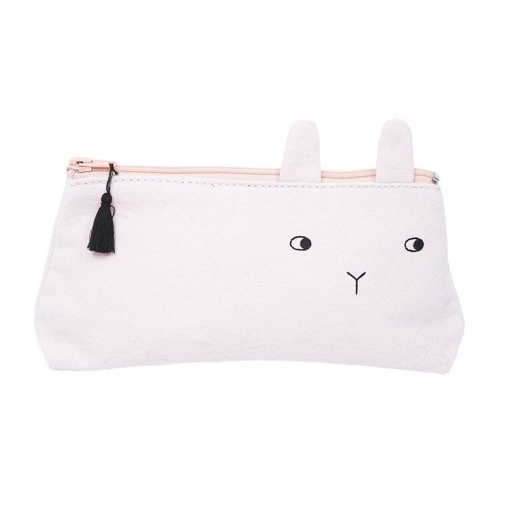 Panpan Rabbit Pencil Case Emile et Ida Teen Children- A large selection of Fashion on Smallable, the Family Concept Store - More than 600 brands.