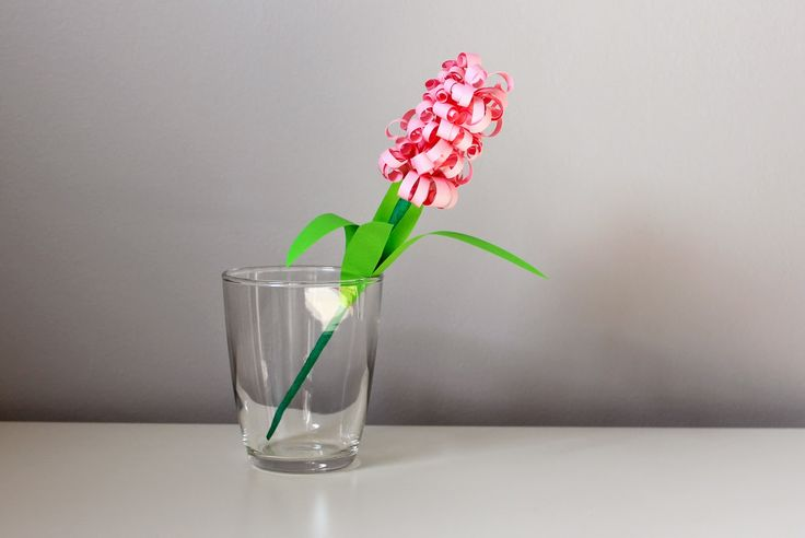 Papierowy hiacynt / Paper hyacinth (curly paper flower)