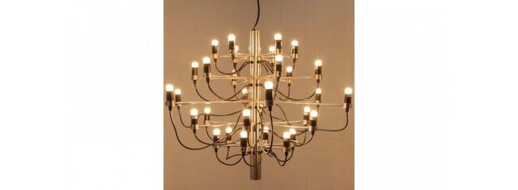Gino Sarfatti Chandelier Taklampa med 30 glödlampor Replikat