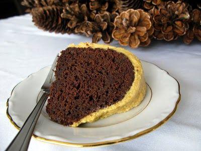 iced pumpkin chocolate spice bundt cake I love bundt cakes