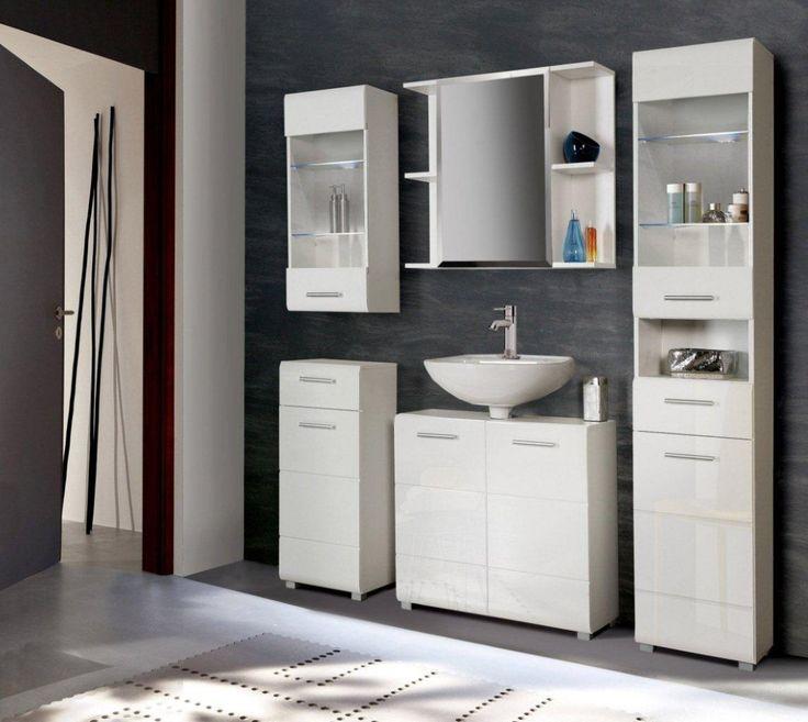 Yli tuhat ideaa Badezimmer Hochschrank Pinterestissä Wpc - kommode für badezimmer