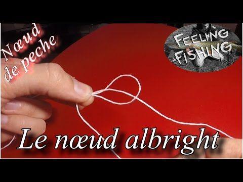 Noeud de Raccord Tresse/Fluorocarbone - YouTube