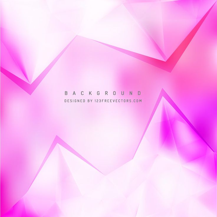 Abstract Pink Triangle Polygonal Background Design  - https://www.123freevectors.com/abstract-pink-triangle-polygonal-background-design-68220/