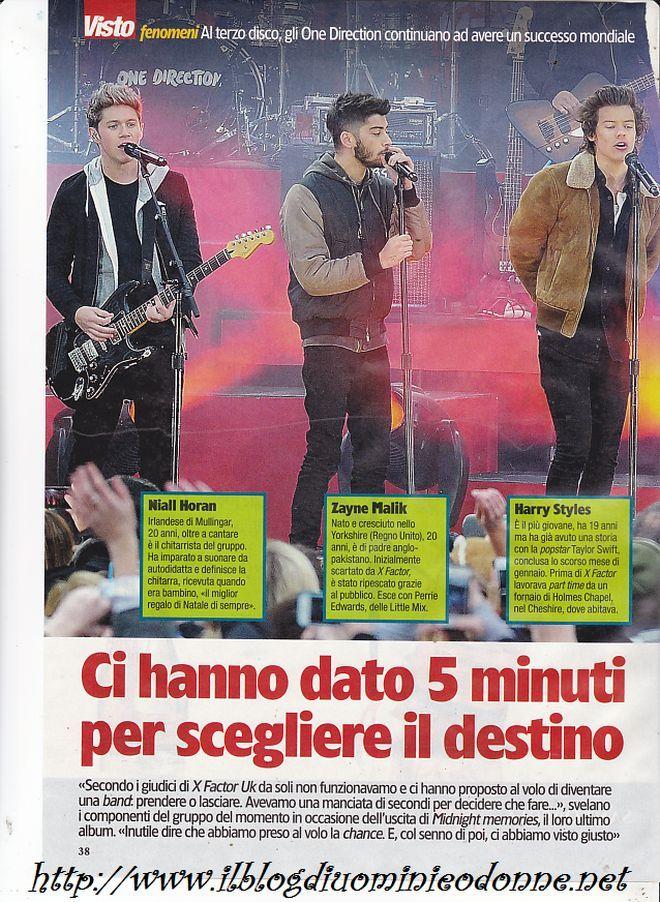 Gli One Direction sbarcano in Italia