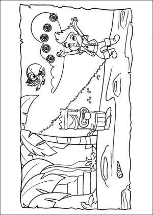 Jake and pirates coloring page 11