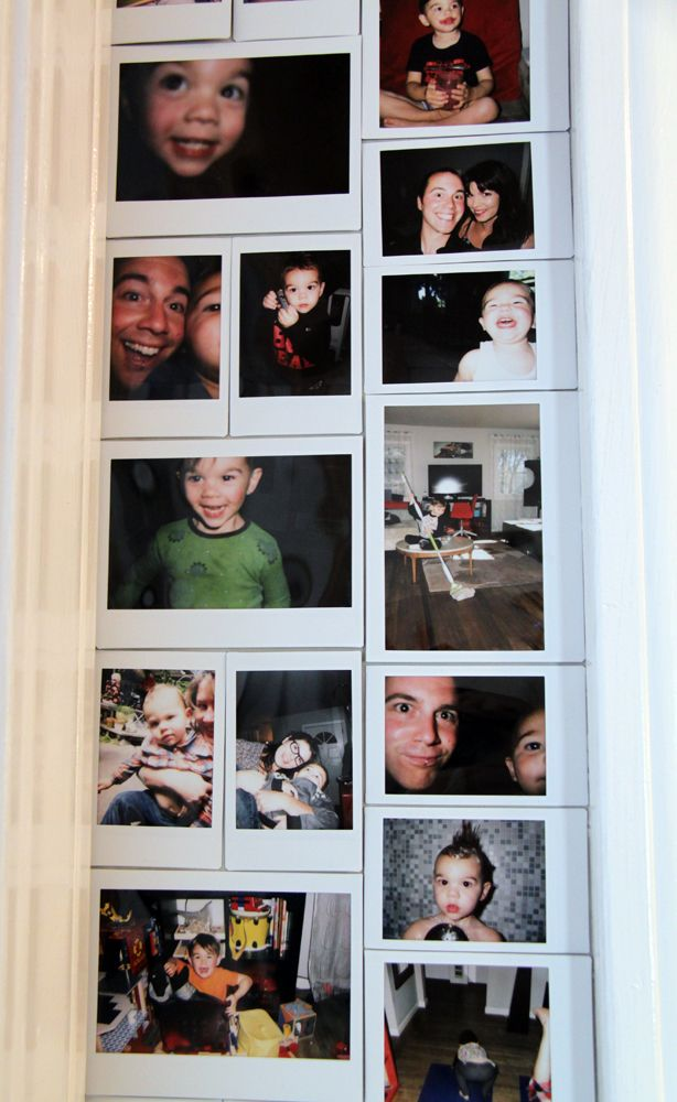 Instax wall.. I am so doing this