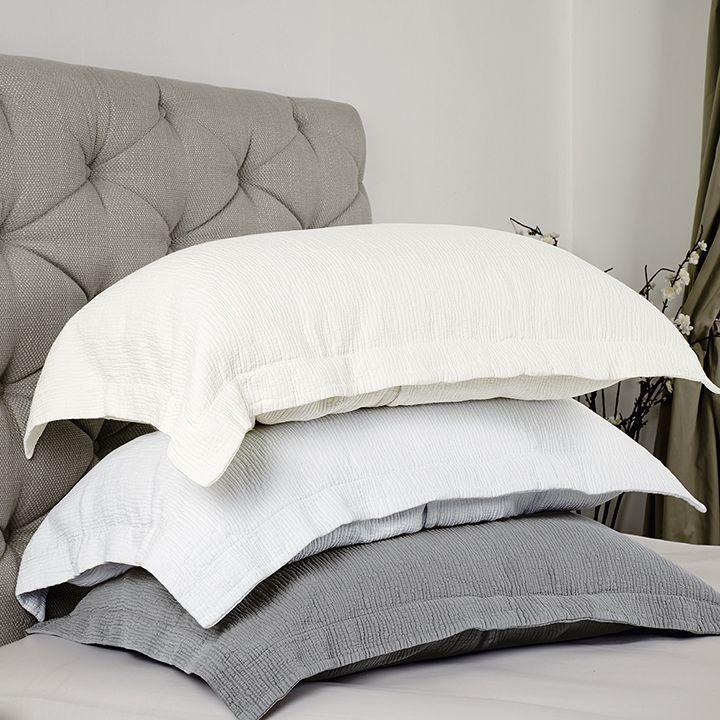 Couvre-lit Oporto en coton/lurex | King of Cotton