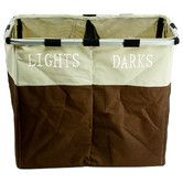 Found it at Wayfair - Foldable Double Laundry Hamper