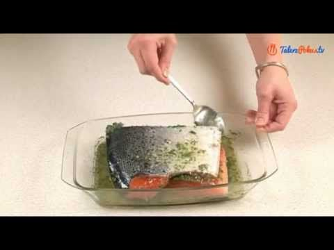 Łosoś marynowany - Gravlax