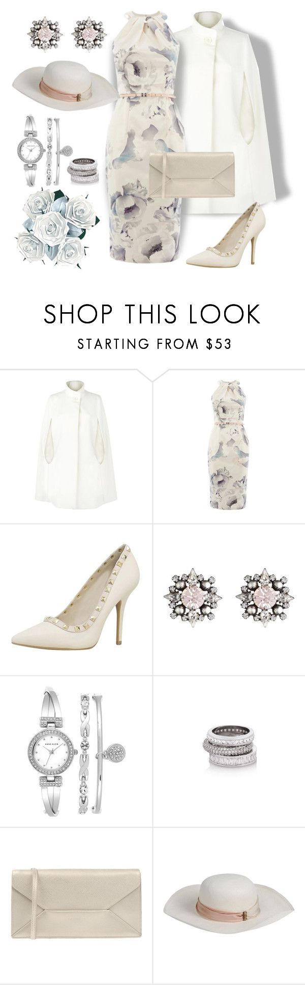 """""""Semi-Formal Occasion"""" by dundiddit ❤ liked on Polyvore featuring мода, Harrods, Coast, DANNIJO, Anne Klein, Henri Bendel, Coccinelle и Pachacuti"""