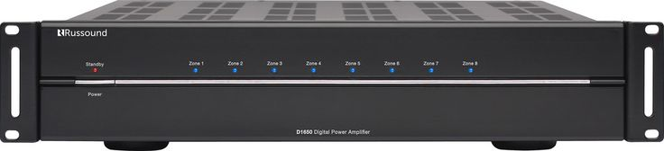 Russound D1650. Powerful, cool-running multichannel power amp. Russound's D1650 amplifier offers versatile multi-room flexibility and plenty of power when and where you need it for top-notch sound.