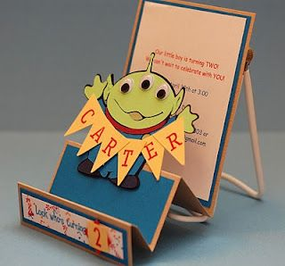 Send out Toy Story themed invitations to promote your outdoor movie event! - Southern Outdoor Cinema event planning tip for promoting an outdoor event.