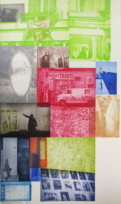 ROBERT RAUSCHENBERG - SOVIET AMERICAN ARRAY VI - GREGG SHIENBAUM FINE ART MIAMI http://www.widewalls.ch/artwork/robert-rauschenberg/soviet-american-array-vi/ #MixedMedia