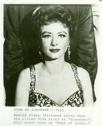 What are some interesting facts about Amanda Blake?