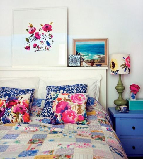 bedding - floral