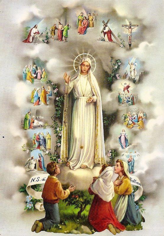 Nossa Senhora de Fátima. Abraçai com o amor da Mãe e da Serva do Senhor aqueles que mais esperam por este abraço