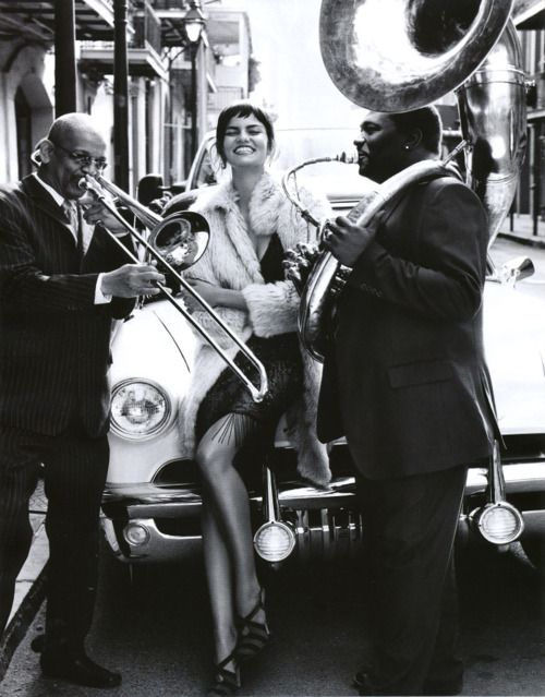 I want a session done where I'm that girl! I LOVE New Orleans jazz music! #markeric
