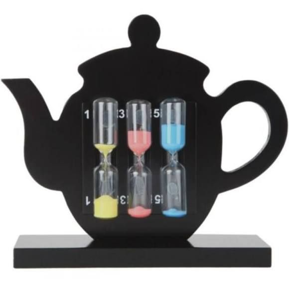 Lilys Home Perfect Tea Timer Three-In-One 1-3-5 Minute Sand Hourglass Timers