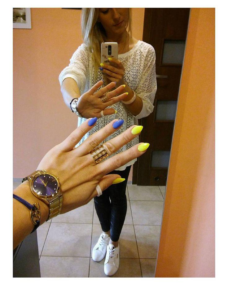 Zupełnie nowe  neonowe  #neonowe #paznokcie #mynails #mojepaznokcie #instaneon #instalemon #lemonnails #instanails #nails #nailsgram #pazurki #polishnails #paznokcieżelowe  #instagirl #nailsofinstagram #instawomen #instalike #aurelia #blondehair #instablonde #blondynka #instarybnik #rybnik #rybnikcity #rybnikgirl #polishgirl #polskadziewczyna #bizuteria #instagood #poland by morellova
